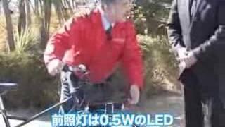 スーツで乗れる自転車 裾を汚さないベルトドライブ ブリヂストンサイクルが発売