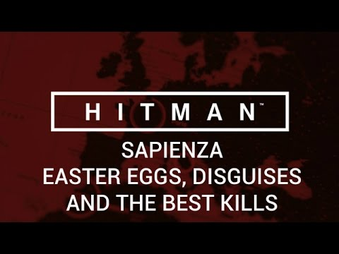 Hitman: Sapienza - Easter Eggs, Disguises, and the Best Kills