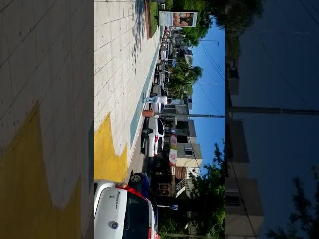 Bocinazo en defensa de los comerciantes y trabajadores de4 la ciudad capital de Formosa