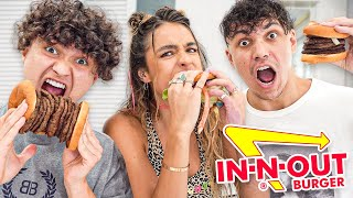 In-N-Out Burger Challenge w/ Sommer Ray