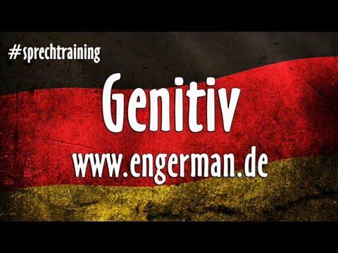 Deutsch lernen genitiv youtube for Genitiv deutsch lernen