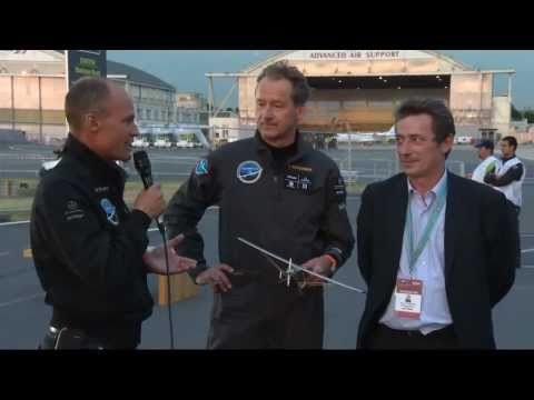 Solar Impulse - European Solar Flights Brussels-Paris