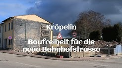 Kröpelin - Baufreiheit für neue Bahnhofstraße