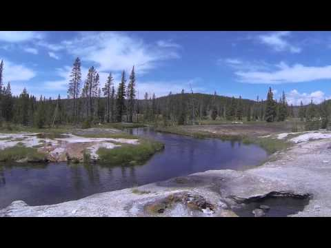 Yellowstone Backpack - Lone Star Geyser Through Bechler Canyon Part 1