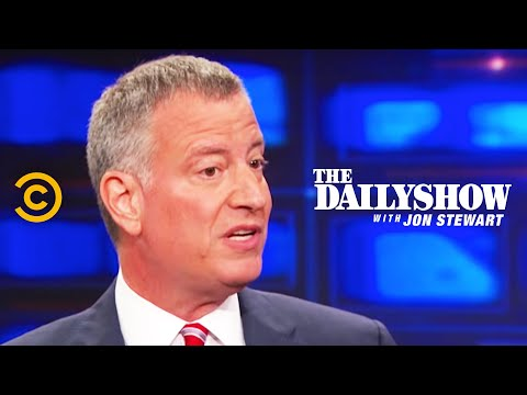 The Daily Show - Bill de Blasio
