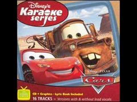 Cars Karaoke--Real Gone--Sheryl Crow
