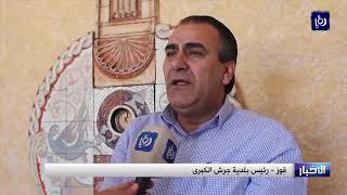 مواطنون في جرش يتهمون مقاولا بالاعتداء على شارع والبلدية ترد - (10-7-2019)
