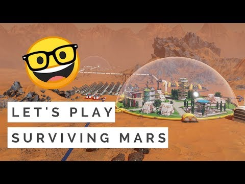 Our First Colony on Mars - Surviving Mars (Gameplay, No Commentary)