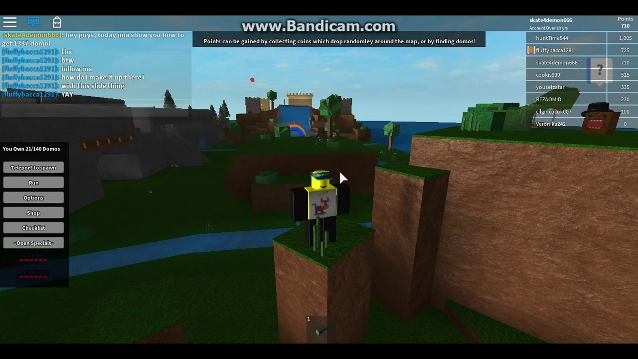 Domo Me Roblox Roblox How To Get Turtle Domo Youtube