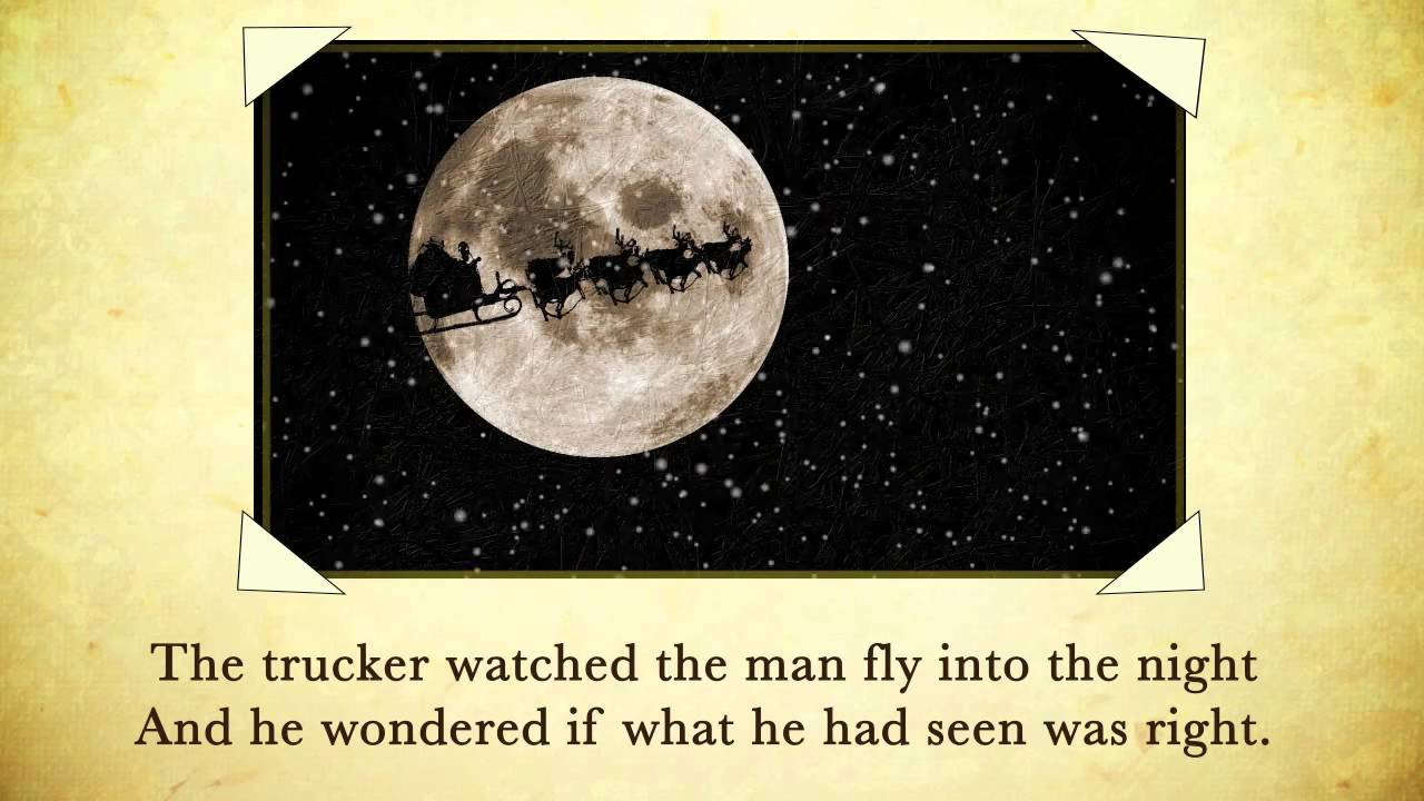 Twas the Night Before Christmas - Trucker Edition - YouTube