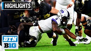 Highlights: Ground Game Powers Horned Frogs Past Boilermakers | TCU at Purdue | Sept. 14, 2019