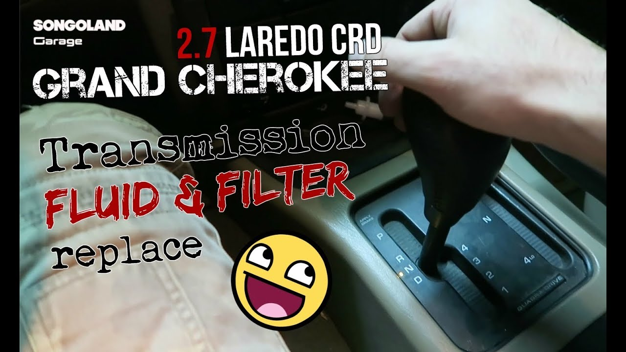 Jeep Grand Cherokee 2 7 CRD [ With gearbox problem ] Fluid & Filter Replace  @ Songoland Garage