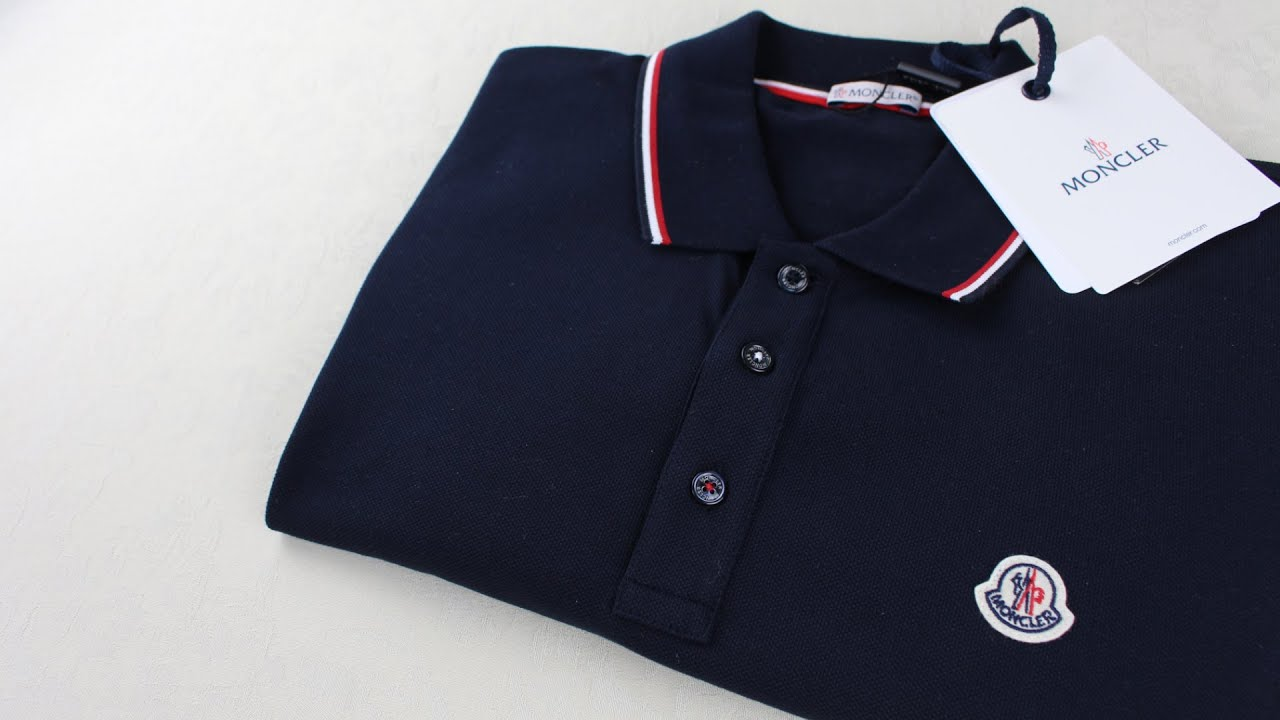 7fce1d40 Moncler Polo Shirt Fit Review & Recommendations - YouTube