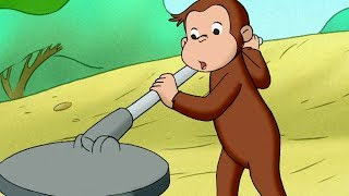 Curious George 🐵Metal Detective 🐵 Kids Cartoon 🐵 Kids Movies | Videos for Kids