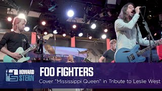 """Foo Fighters Cover """"Mississippi Queen"""" Live on the Stern Show"""