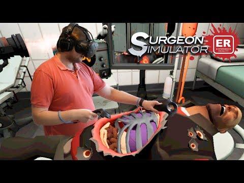 БОБКОЗАМЕНИТЕЛЬ ► Surgeon Simulator VR: Meet The Medic