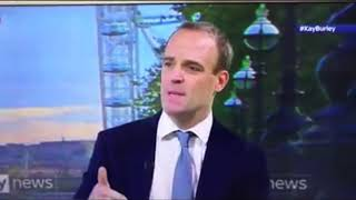 "Dominic Raab says ""covid tests are only 7% accurate"""