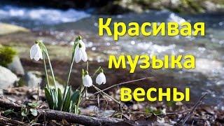 Март. Красивая музыка весны. Beautiful music of spring