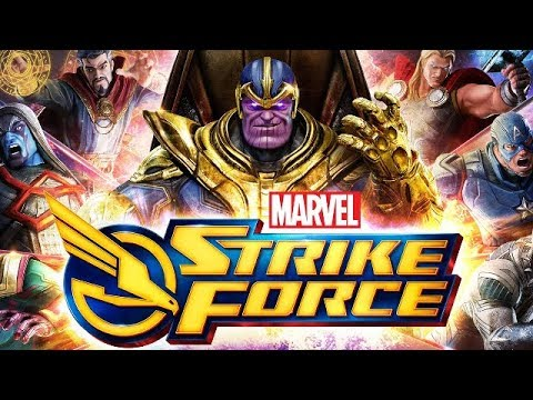 Marvel Strike Force Part 3 - Thanos Arrives! New Event To Unlock THANOS for Avengers Infinity War!