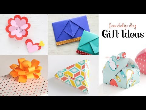 5 Easy Gift Ideas| Friendship Day Gifts