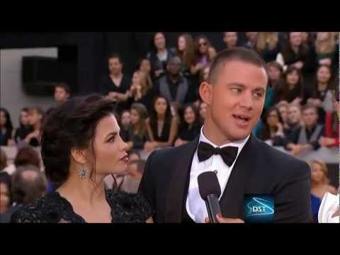 Channing Tatum Red Carpet Interview 2013