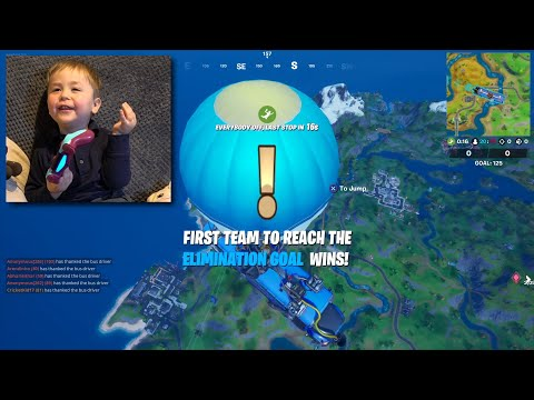 Ryder's First Time On FORTNITE