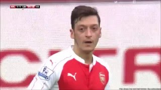 Danny Welbeck 95th minute Winner // Arsenal 2-1 Leicester City // Premier League // 14/02/16