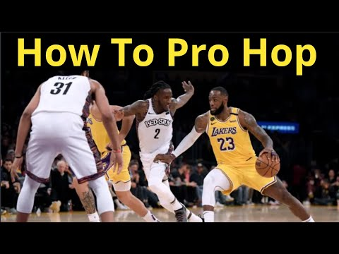 NBA Finish - Pro Hop (Hop Step) - Move Breakdown