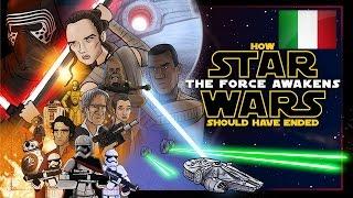 """Come doveva finire """"Star Wars VII  - Il risveglio della Forza"""" [ITA]"""