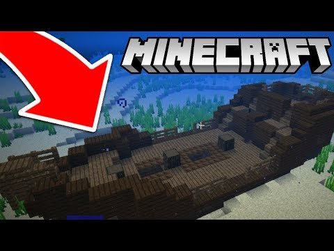 How to easily find the new shipwreck in Minecraft!