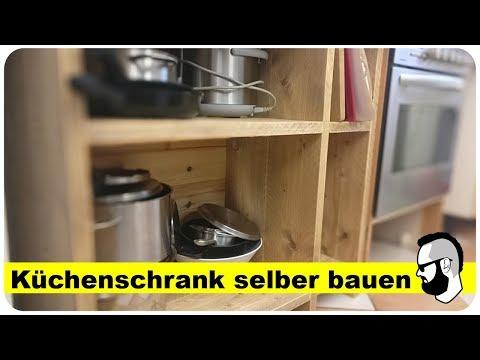 Küchenschrank selber bauen (aus Bauholz)