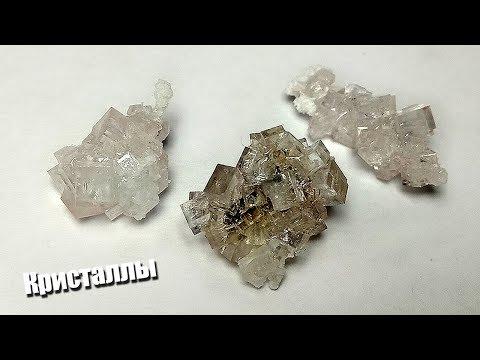 Выращивание кристаллов в домашних условиях из соли инструкция