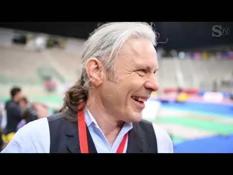 Bruce Dickinson (IRON MAIDEN) - intervista La Stampa @ FIE Grand Prix Torino 2020