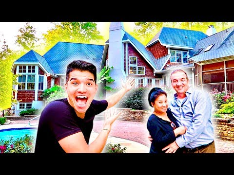 BOUGHT MY PARENTS A MANSION! *emotional*