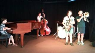 When the Saints Go Marching In - Creative Music Adventures Jazz Camp 2012