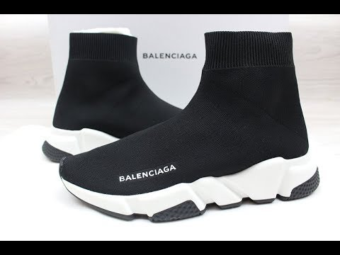 Balenciaga Speed Trainer Black \u0026 Black