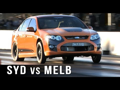 Sydney vs Melbourne Street Outlaws