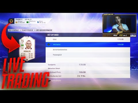 FIFA 19 LIVE TRADING! 32 MIO COINS! DICKES WEIHNACHTS GIVEAWAY BEI 500 LIKES!! thumbnail