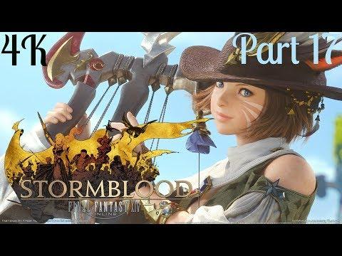 Fantasy XIV Online PS4 PRO 4K: Stormblood - Leather worker's Guild,  Carpenter's Guild Part 17