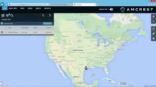 AmcrestGPS.com Basic Website Overview for the AM-GL300 GPS