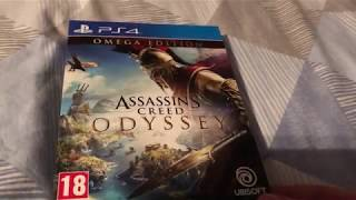 Assassins Creed Odyssey Omega Edition Unboxing PS4