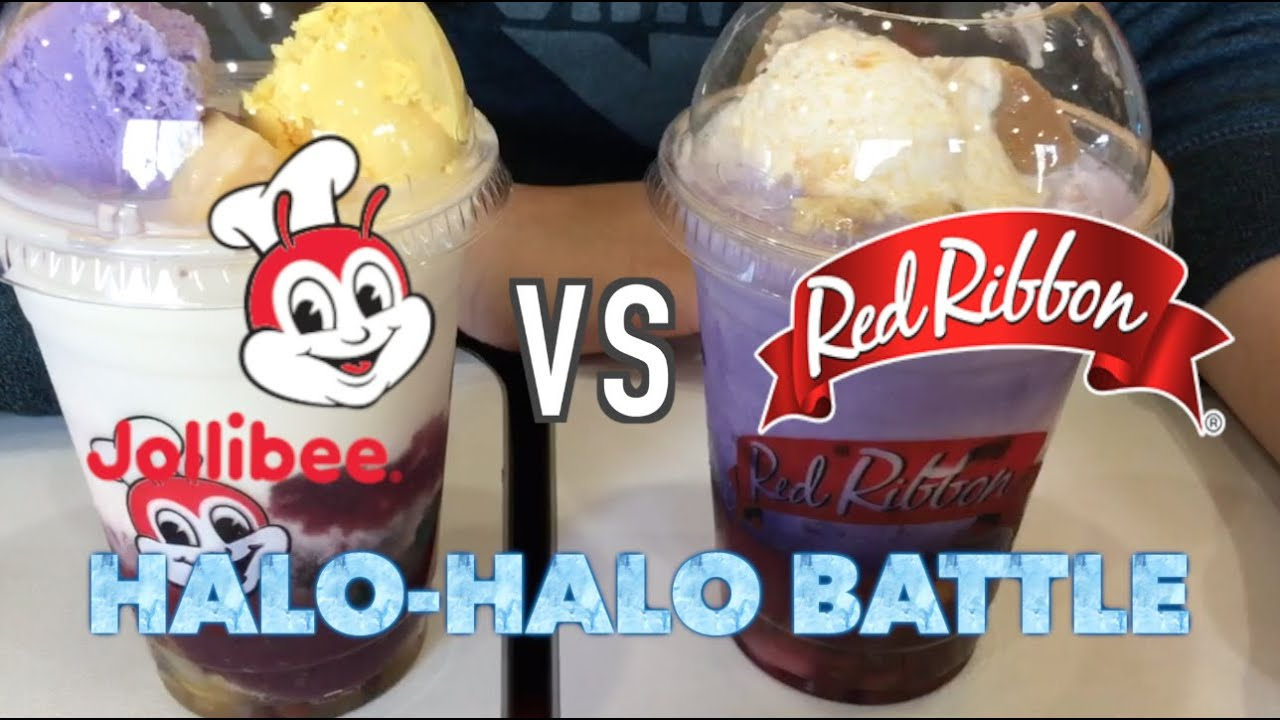 Jollibees Halo VS Red Ribbons