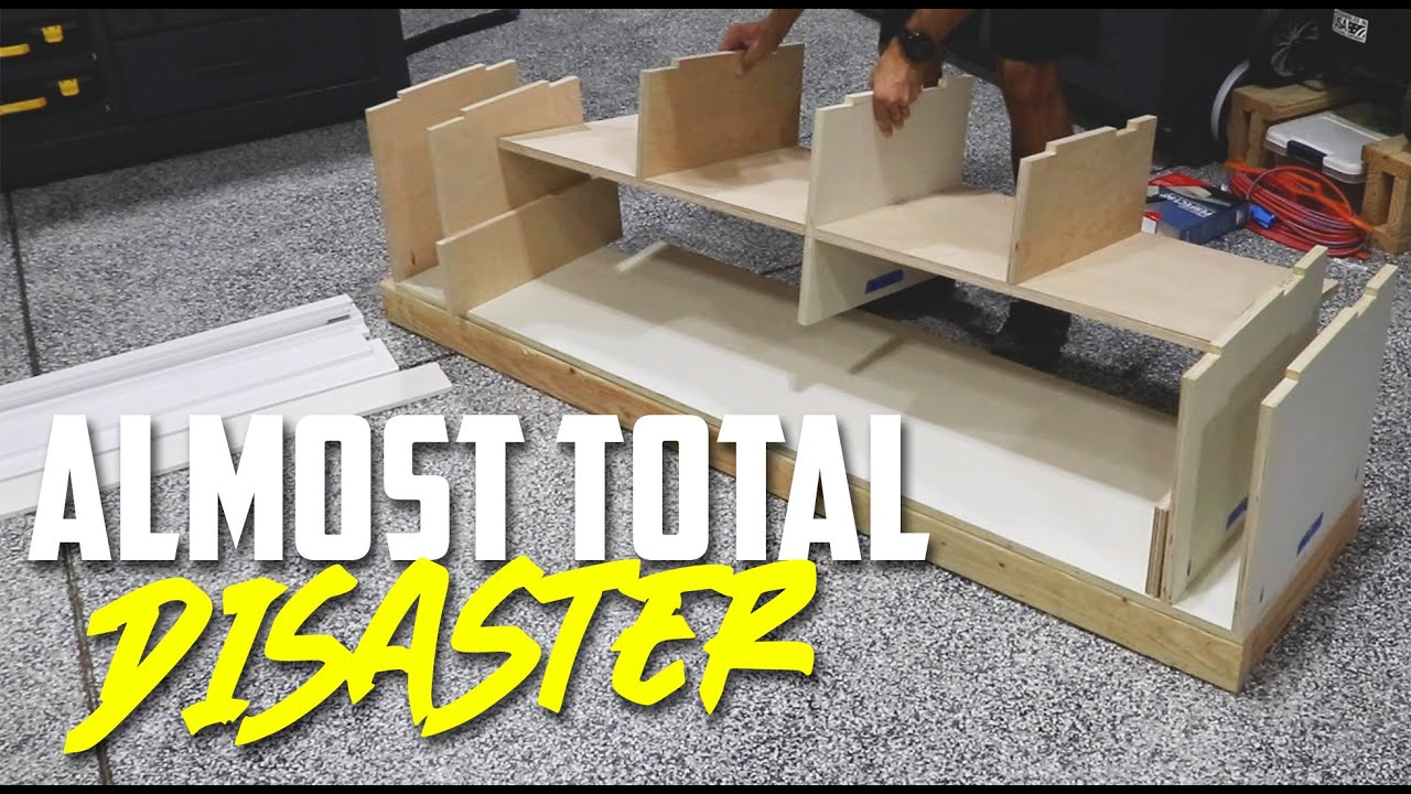 How to Turn a Closet into a Mudroom // Part 1