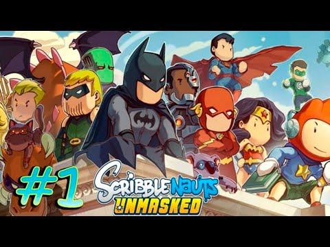 Scribblenauts Unmasked (PC) part 1 [Gotham - Batcave]