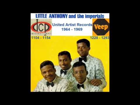 Little Anthony & The Imperials - United Artists 45 RPM Records - 1964 - 1969