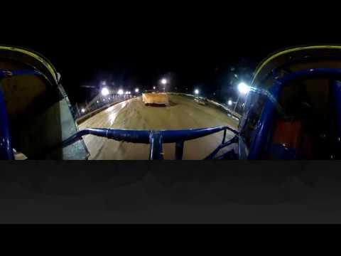Brett McDonald 360fly Sharon Speedway Heat Race 9/7/18