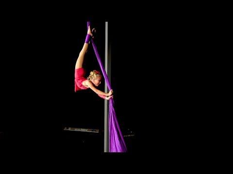 Nyana Miles - Aerial Silks - How Far I'll Go (Alessia Cara Version)