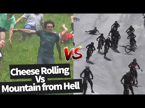 Cheese Rolling Vs The Mountain of Hell