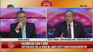 22/06/2018 SEÇİM 2018 - SEYİT TORUN / CHP ORDU MV. ADAYI