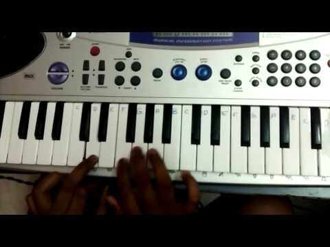 ENGA MAKKA SONG FROM PULI ON KEYBOARD WITH NOTES